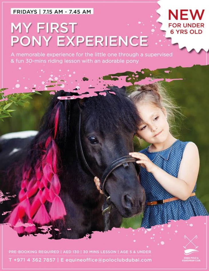 First Pony Experience