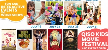 Summer events and Activities for Kids @ Qiso Cafe