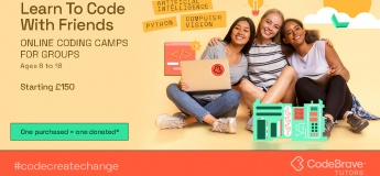 Summer Coding Camps from CodeBrave Tutors