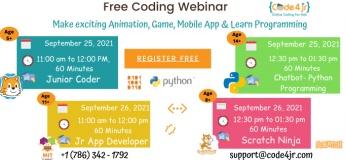FREE Coding Webinar