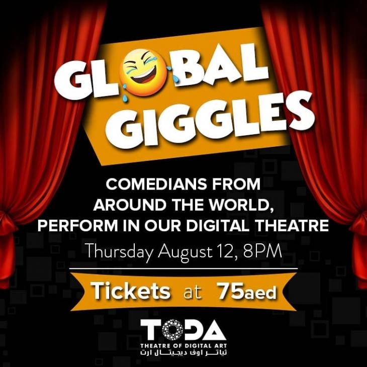 Global Giggles @ ToDA