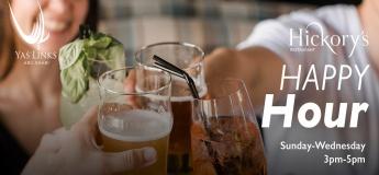 Happy Hour at Hickory's Restaurant, Yas Links Abu Dhabi
