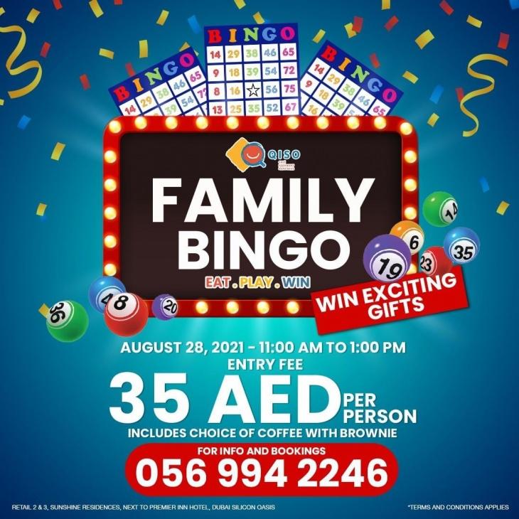 Family Bingo @ Qiso Cafe