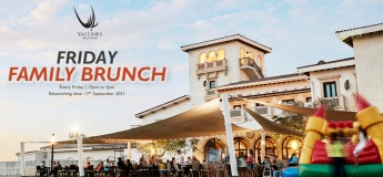Friday Family Brunch at Hickory's restaurant at Yas Links Abu Dhabi