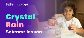 Crystal Rain science lesson