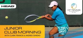 Junior Club Morning @ CF Tennis Academy