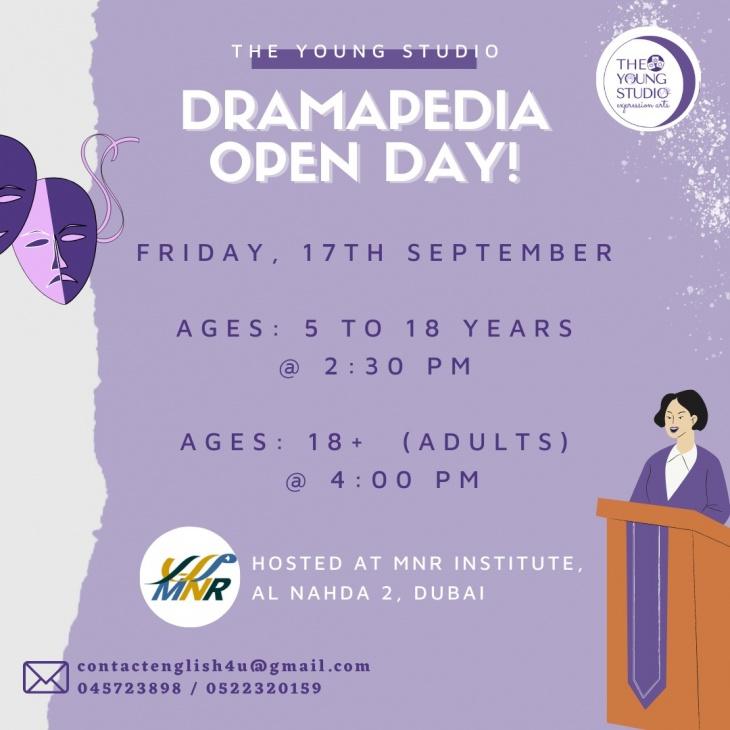 Dramapedia - Open Day