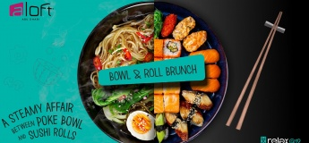 Bowl & Roll Brunch at Relax@12