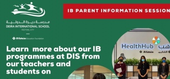 IB parent information session by Deira International School