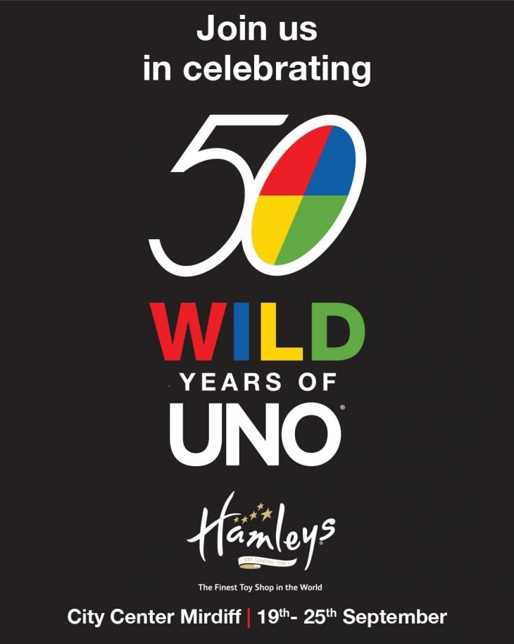 Celebrate 50th Anniversary of UNO @ Hamleys