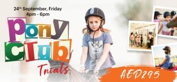Al Habtoor Riding School: Pony Club Trials