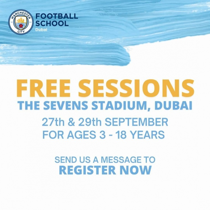 Free Football Sessions by City Football Schools