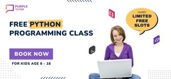 FREE Python programming class for Kids