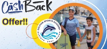 Best Cashback Offer from Dolphin Sports Academy