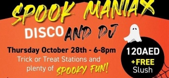 Spook Maniax Disco Party
