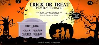 Trick or Treat Family Brunch @ The Scene by Simon Rimmer