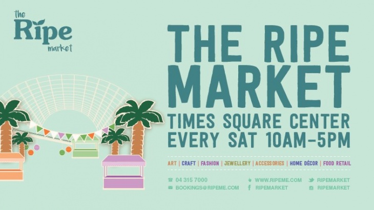 The Ripe Summer Market in Times Square Center