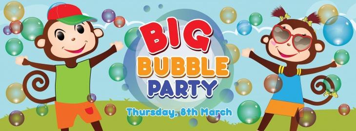 Big Bubble Party