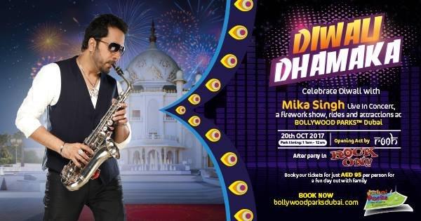 Diwali Dhamaka with Mika Singh at Bollywood Parks™ Dubai