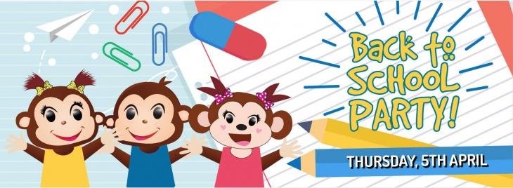 Back to School Party @ Cheeky Monkeys J3 Mall