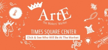 ARTE The Makers Market Live in Times Square Center