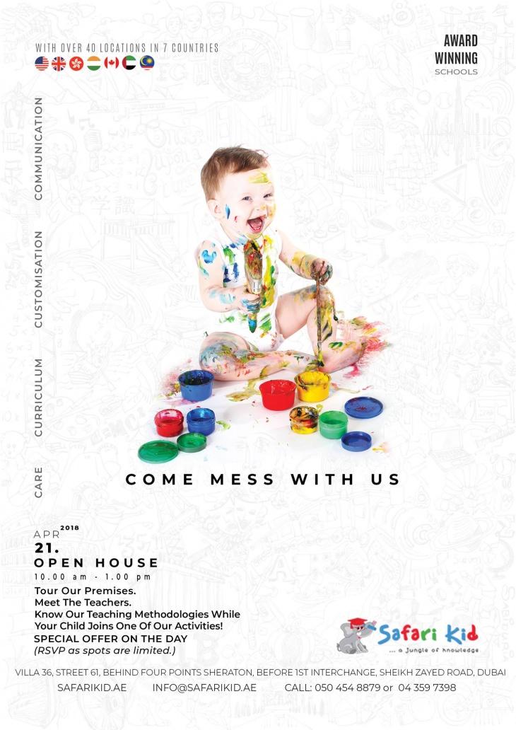 Safari Kid Open House