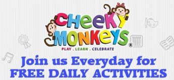 Free Daily Activities at Cheeky Monkeys