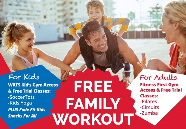 Free Family Workout at Beach Park Plaza