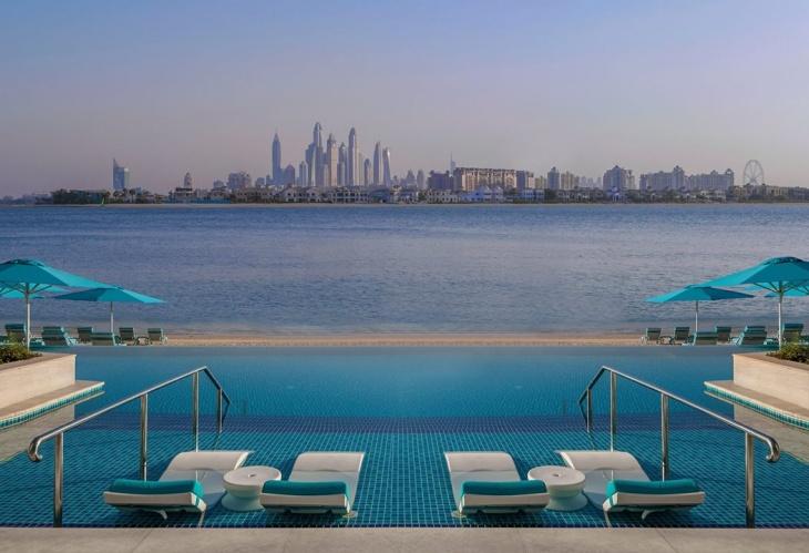Pool & Beach–Day Pass at The Retreat Palm Dubai