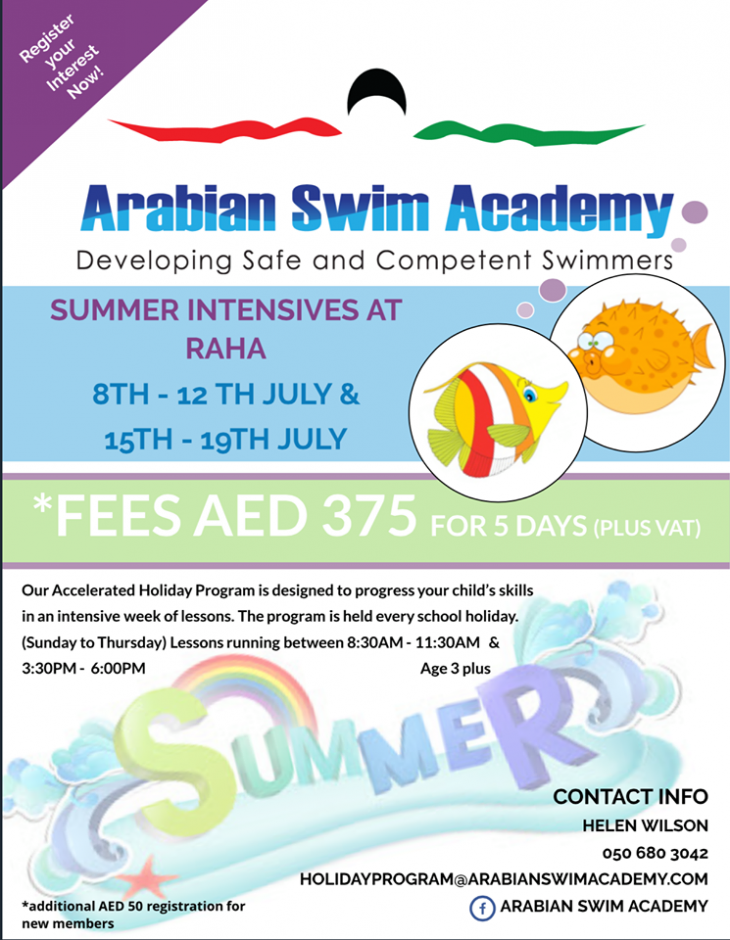 Summer Intensives @ Raha   Tickikids Abu Dhabi