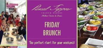 Friday brunch & Cooking Class