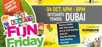 Krafty Kids Fun Friday at Skycourts Towers