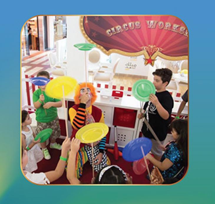 Mercato's Circus Fiesta: Kid's Circus Workshop