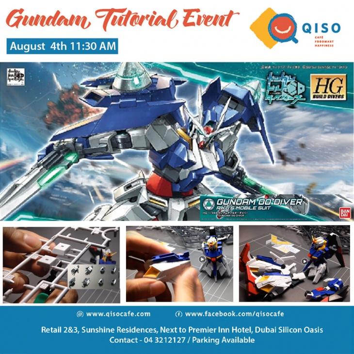 Qiso Gundam Tutorial Event