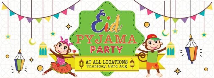 Eid Pyjama Party at Cheeky Monkeys J3 Mall