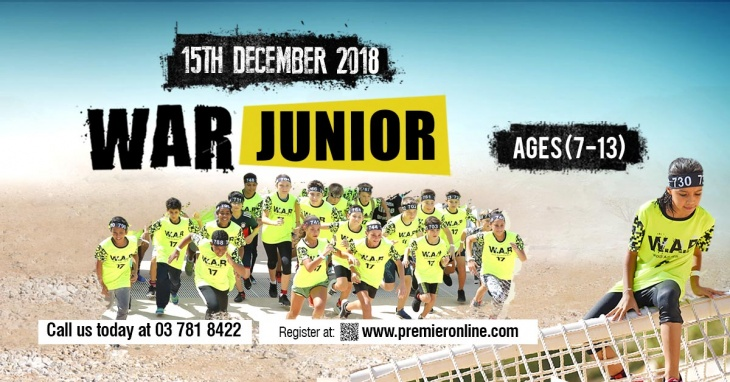 W.A.R Junior Race 18