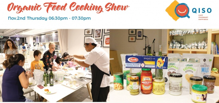 Organic Food Cooking Show and Tasting event