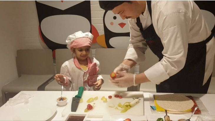 Pasta Cooking Show for Kids