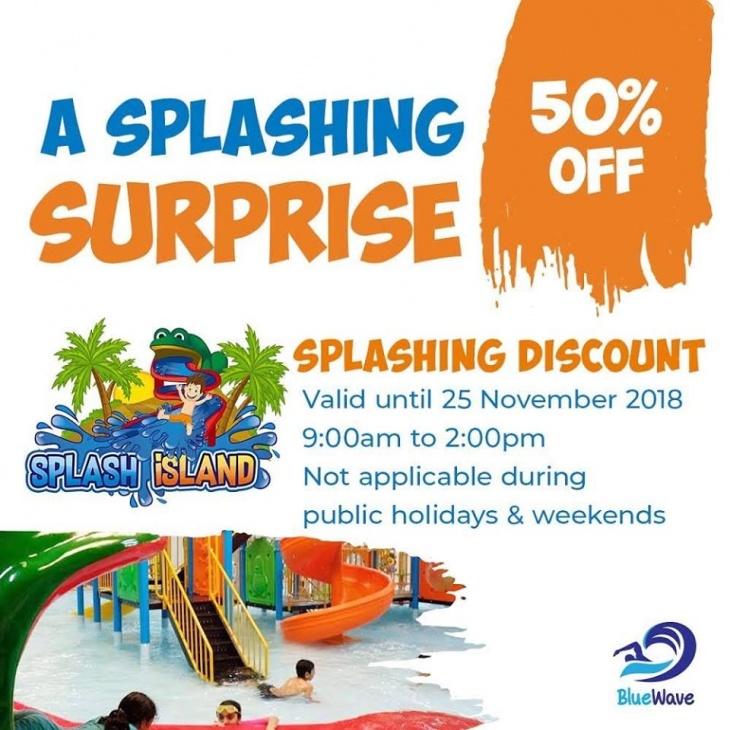 A splashing surprise