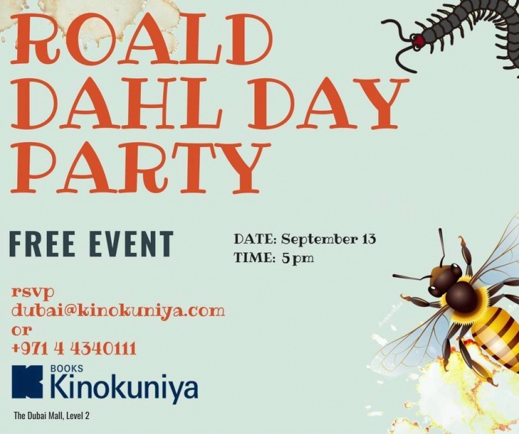 Roald Dahl phizz-whizzing Party