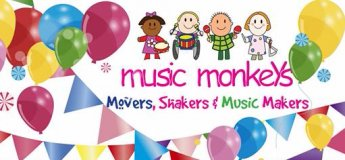 Birthday Parties with Music Monkeys for 1 to 5 year olds!