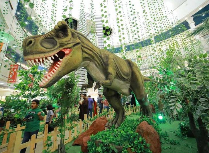 Discover The Dinosaur World at Al Wahda Mall | Tickikids Abu
