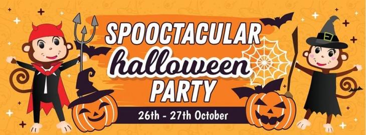Spooctacular Halloween Party @ Cheeky Monkeys J3