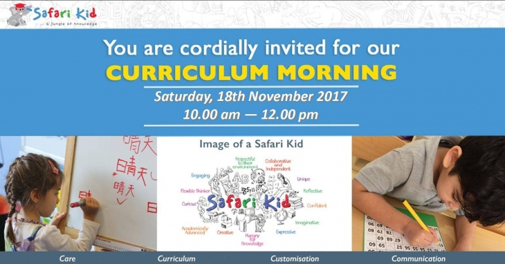 Safari Kid Nursery Curriculum Morning