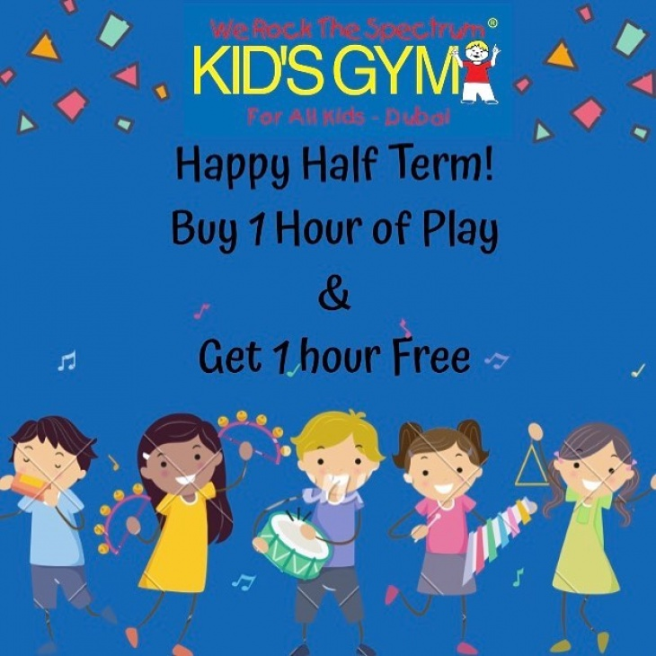 We Rock The Spectrum's 2 for 1 Special offer for Half Term