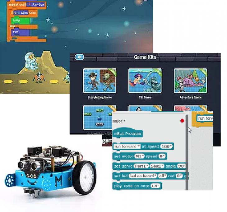 Adventures in Coding & Robotics Camp (Ages 6 - 10, mixed levels) |  Tickikids Dubai