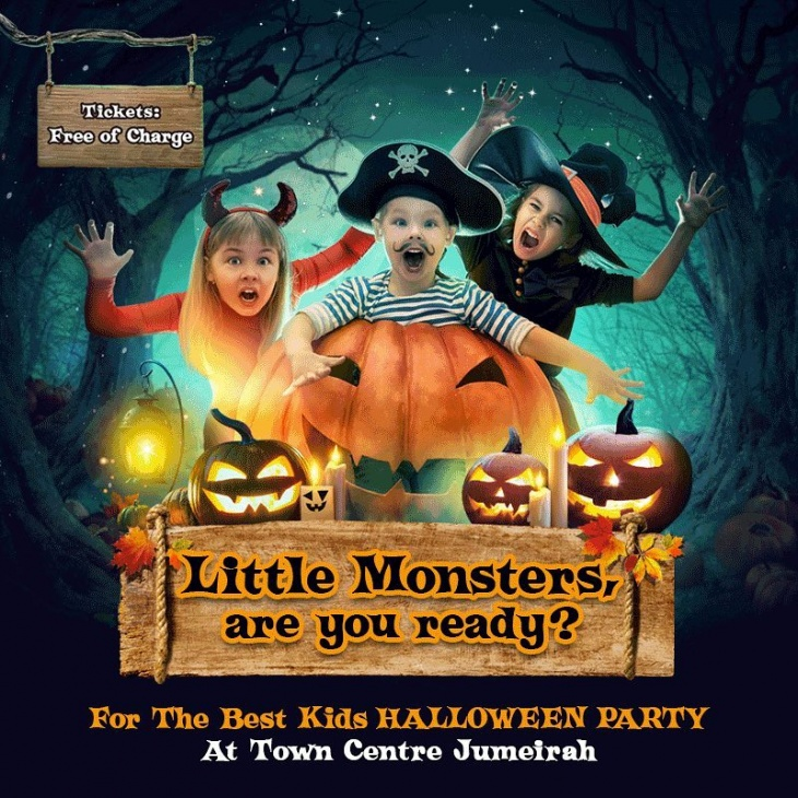 Kids Halloween Party @ Town Centre Jumeirah