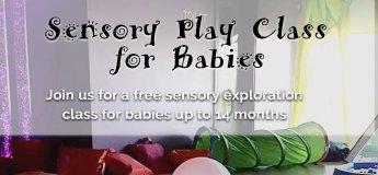 Sensory Play Class
