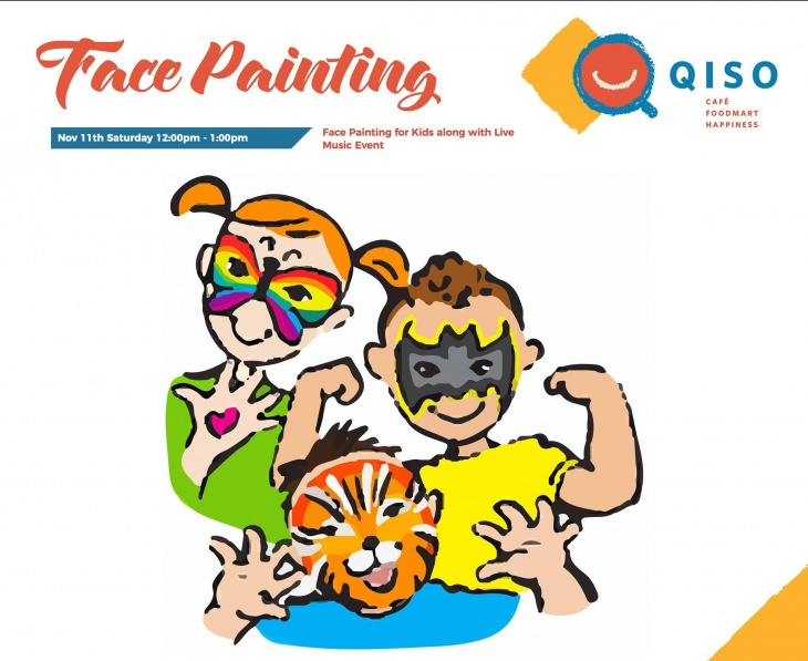 Face Painting for Kids with Live Music Event