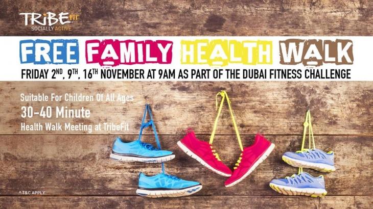 Free Family Health Walk